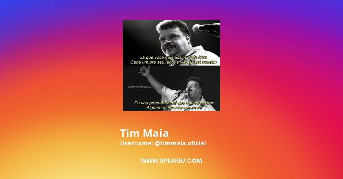 Tim Maia Instagram Stats