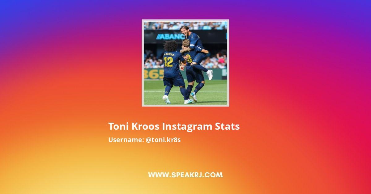 Toni Kroos Instagram Stats