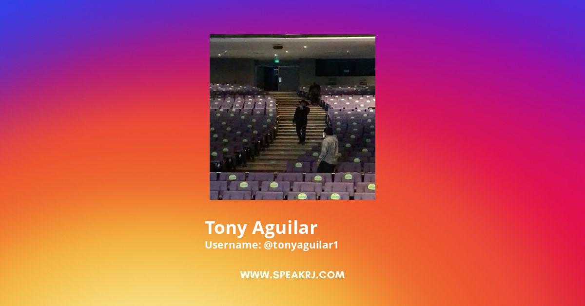 Tony Aguilar Instagram Stats