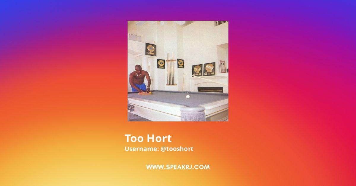 Tooshort Instagram Stats