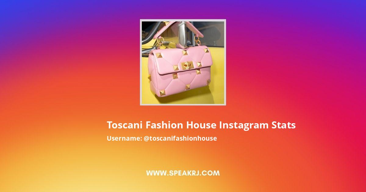 Toscani Fashion House Instagram Stats
