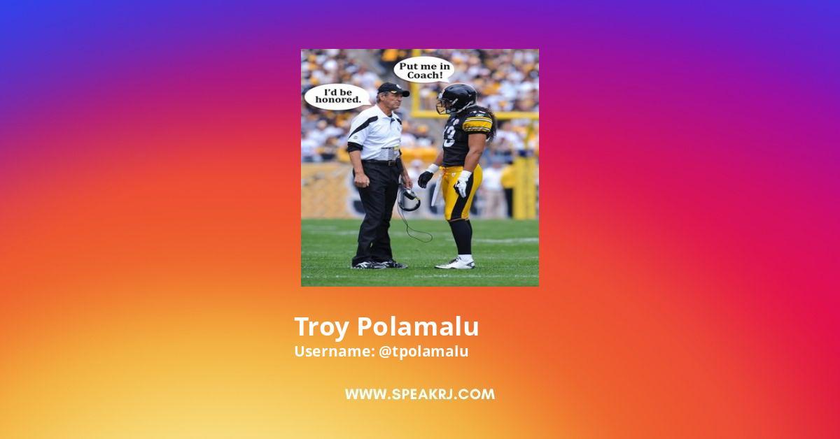Troy Polamalu Instagram Stats