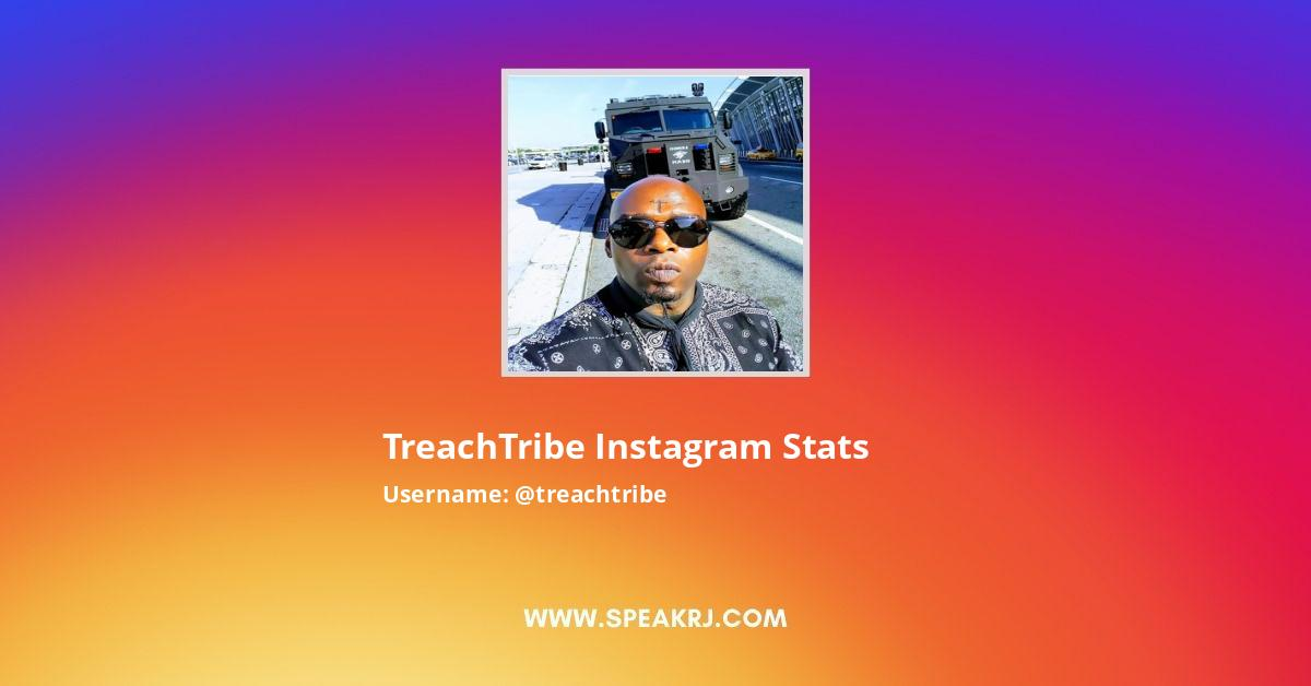 TreachTribe Instagram Stats