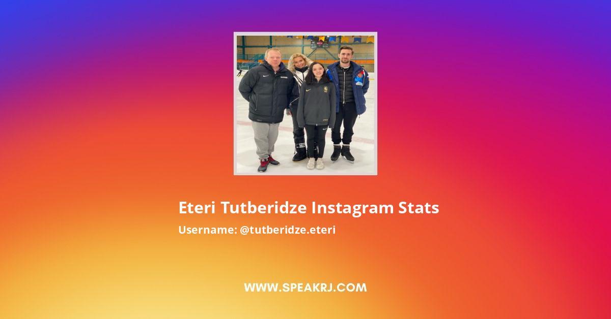 Eteri Tutberidze Instagram Stats