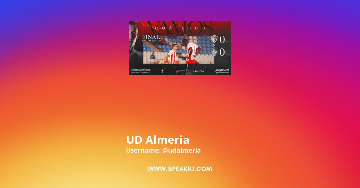 Udalmeria Instagram Stats