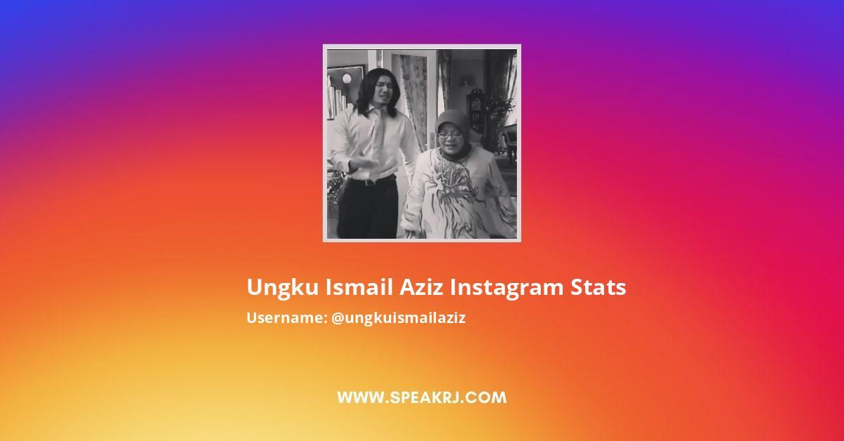 Ungku Ismail Aziz Instagram Stats