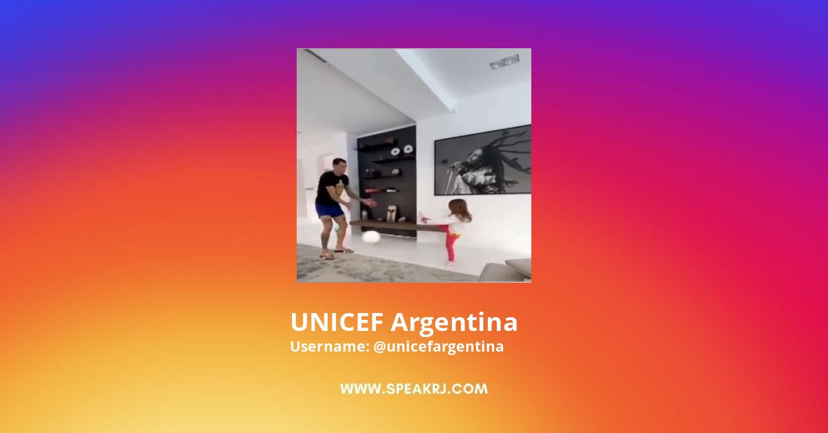 UNICEF Argentina Instagram Stats
