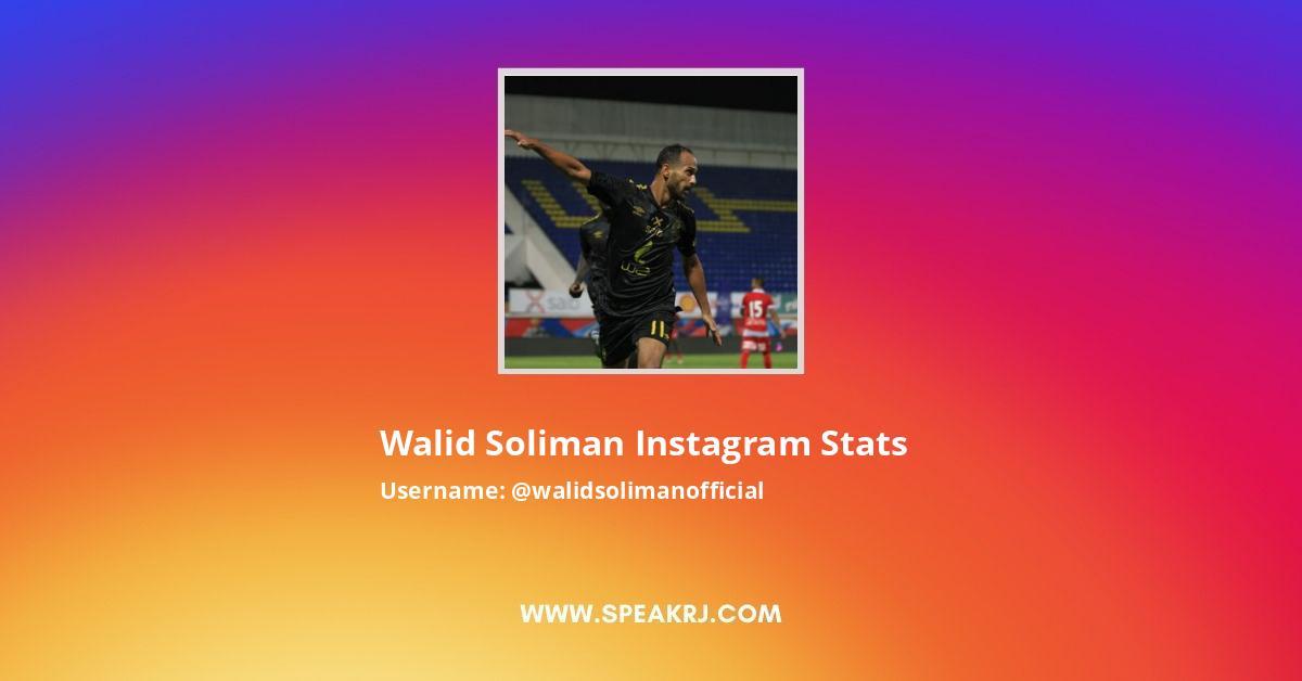 Walid Soliman Instagram Stats