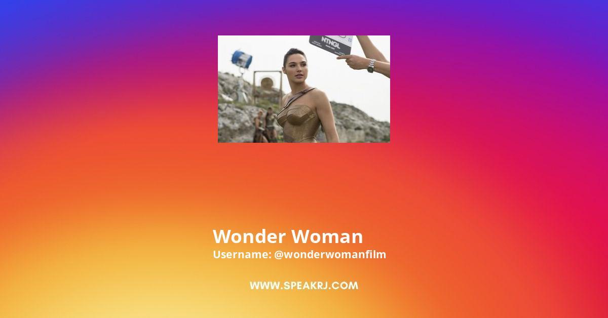 Wonder Woman Instagram Stats