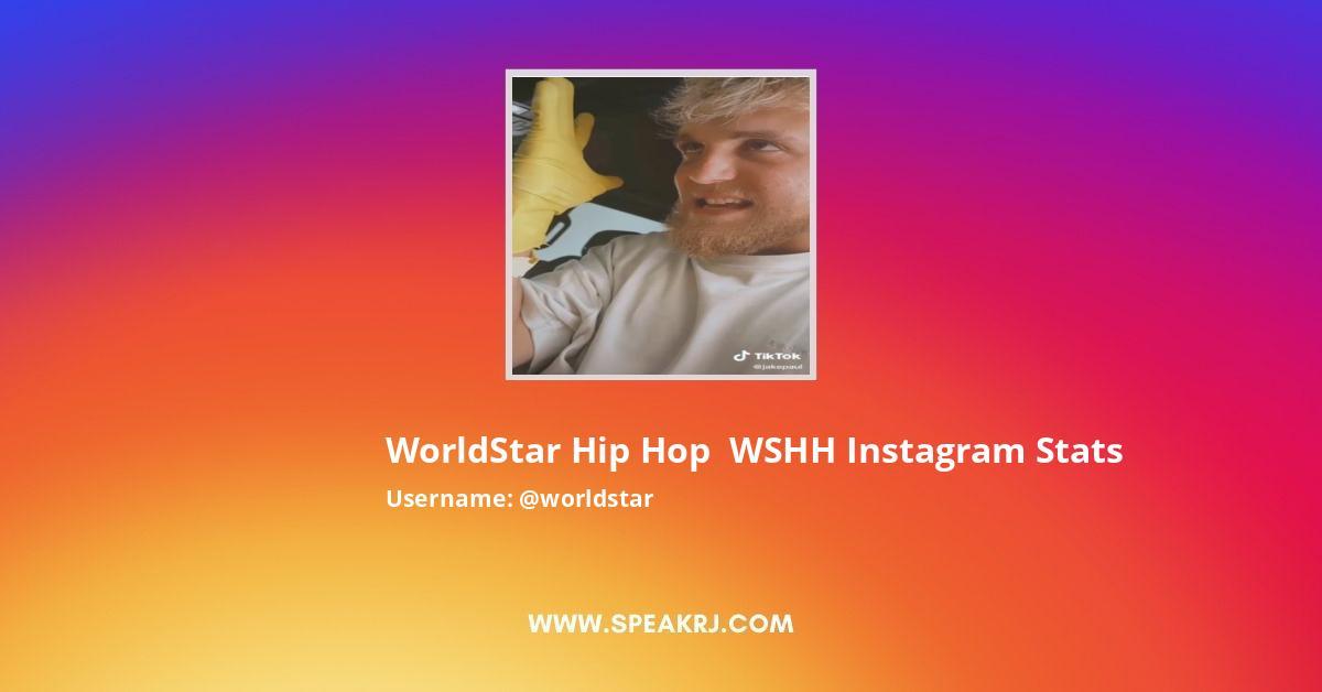 Worldstar Instagram Stats