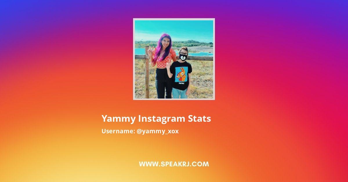 Yammy Instagram Stats