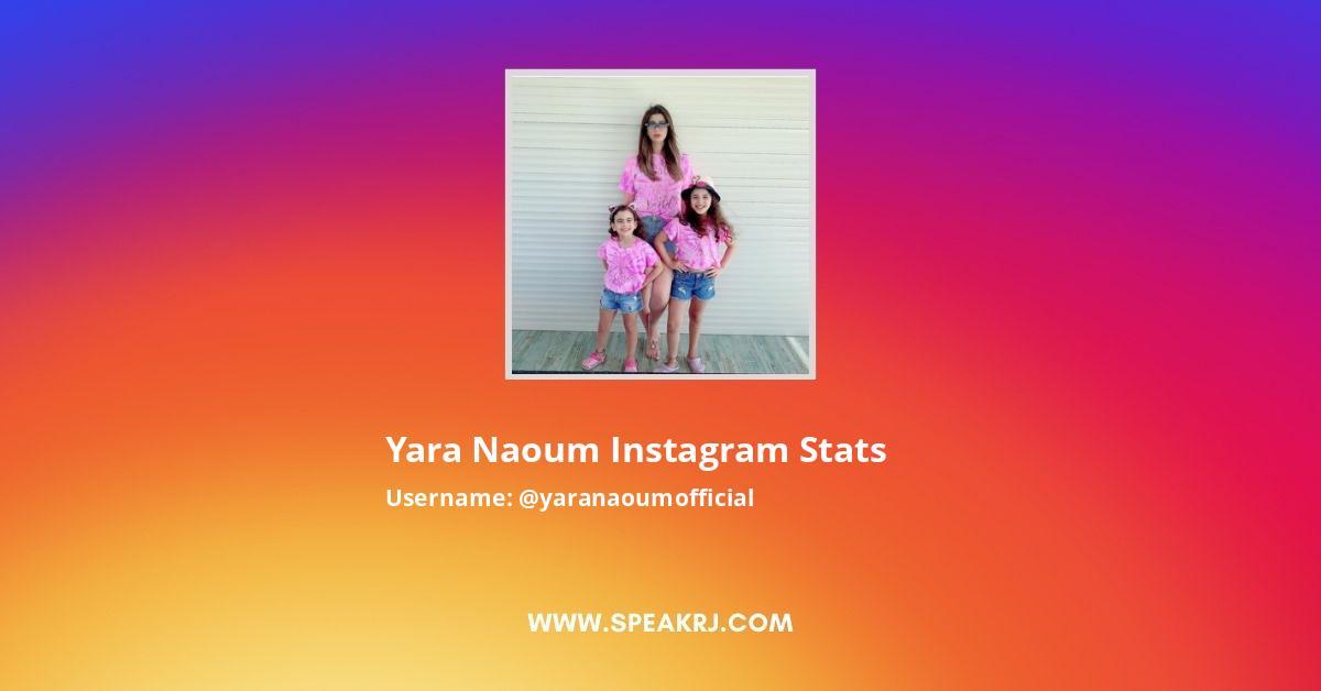 Yara Naoum Instagram Stats