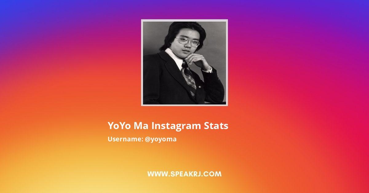 Yoyoma Instagram Stats
