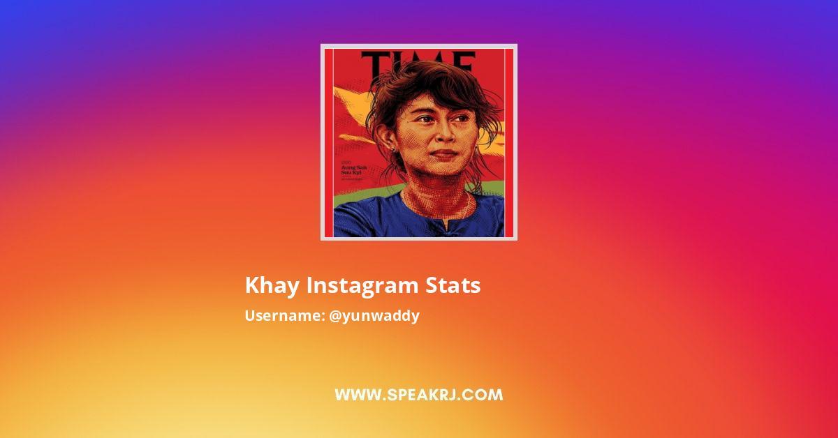 khay Instagram Stats