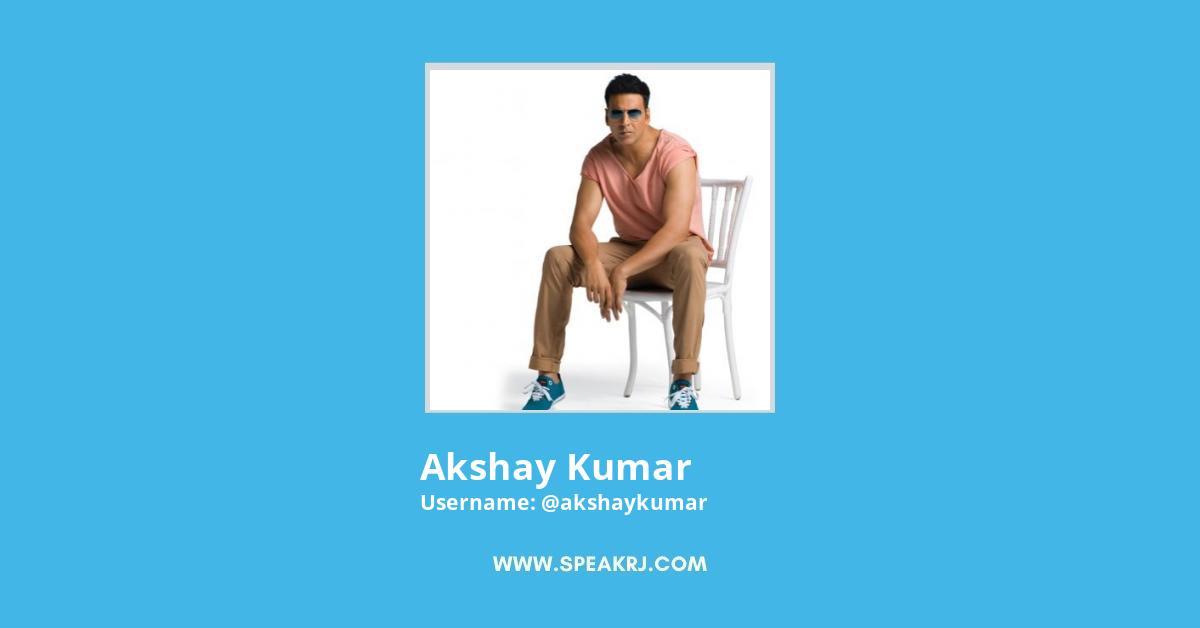 Akshay Kumar Twitter Followers Growth