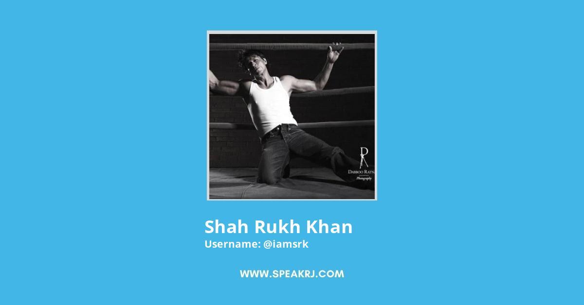 Shah Rukh Khan Twitter Followers Growth