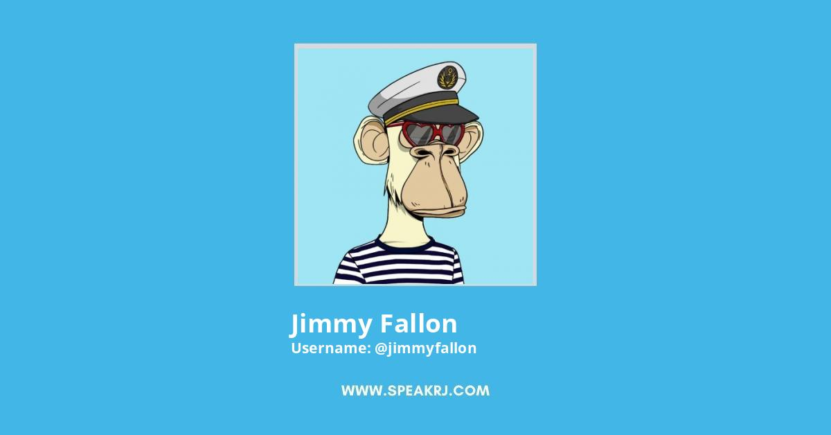 jimmy fallon Twitter Followers Growth