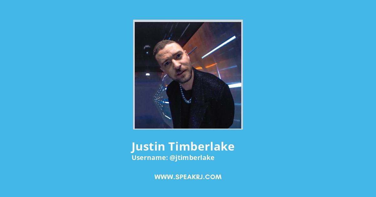 Justin Timberlake Twitter Followers Growth