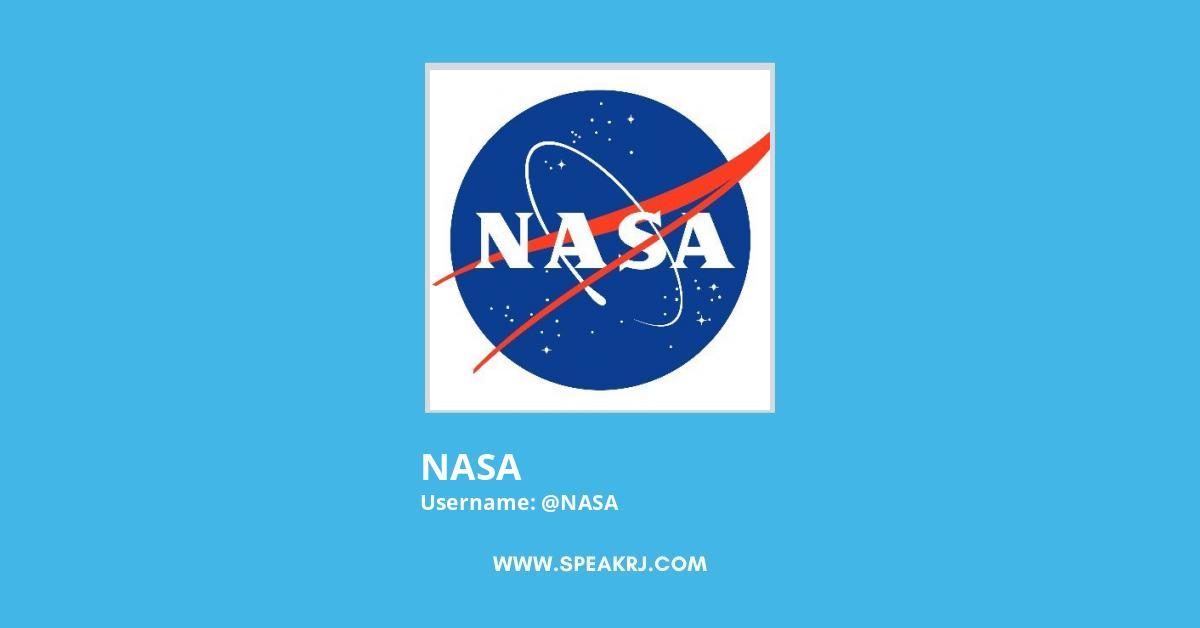NASA Twitter Followers Growth