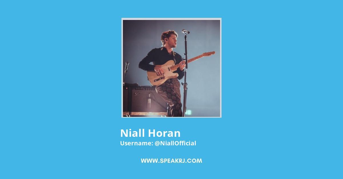 Niall Horan Twitter Followers Growth