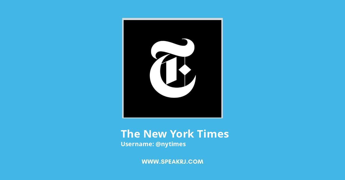The New York Times Twitter Followers Growth