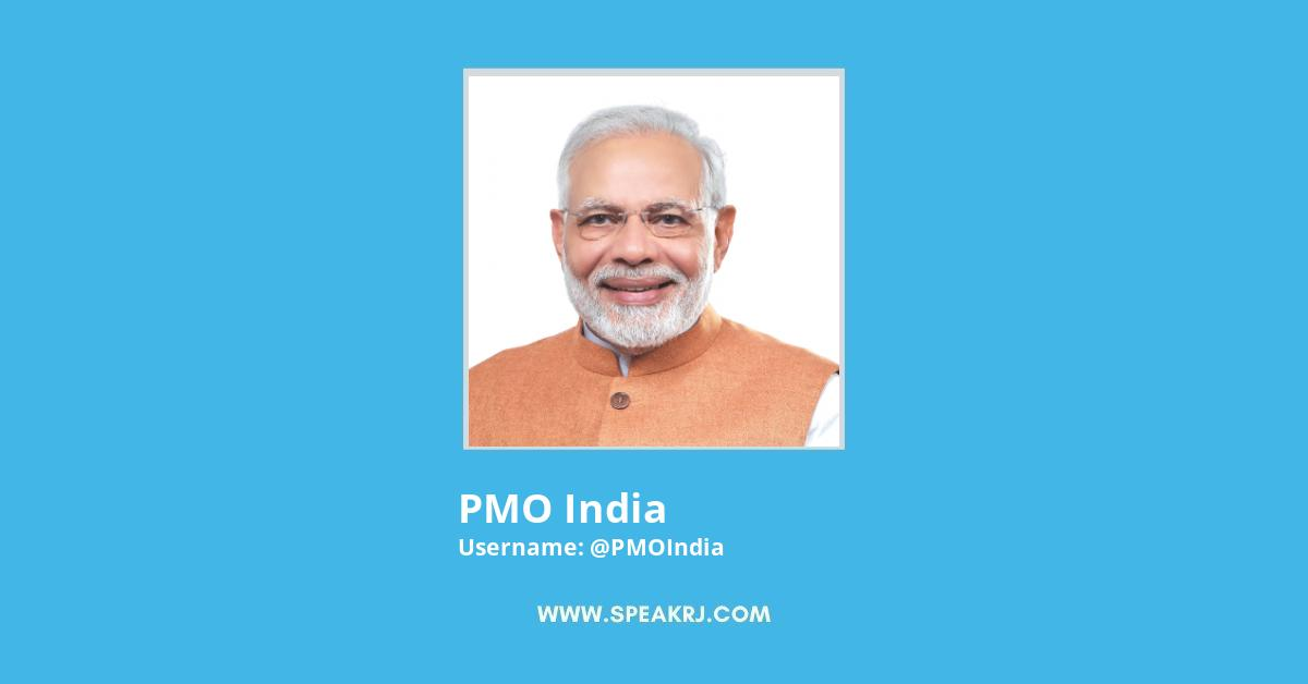 PMO India Twitter Followers Growth
