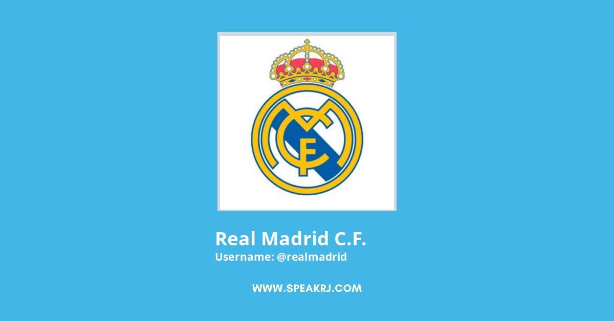 Real Madrid C.F. Twitter Followers Growth