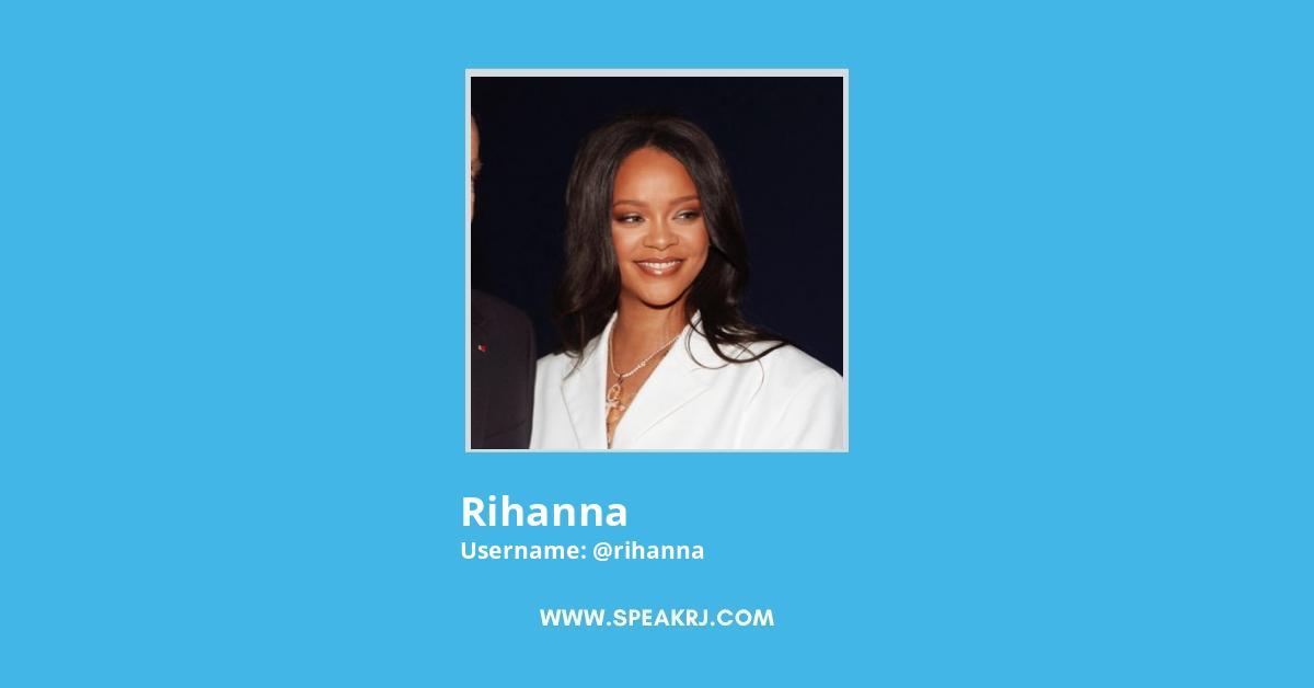 Rihanna Twitter Followers Growth