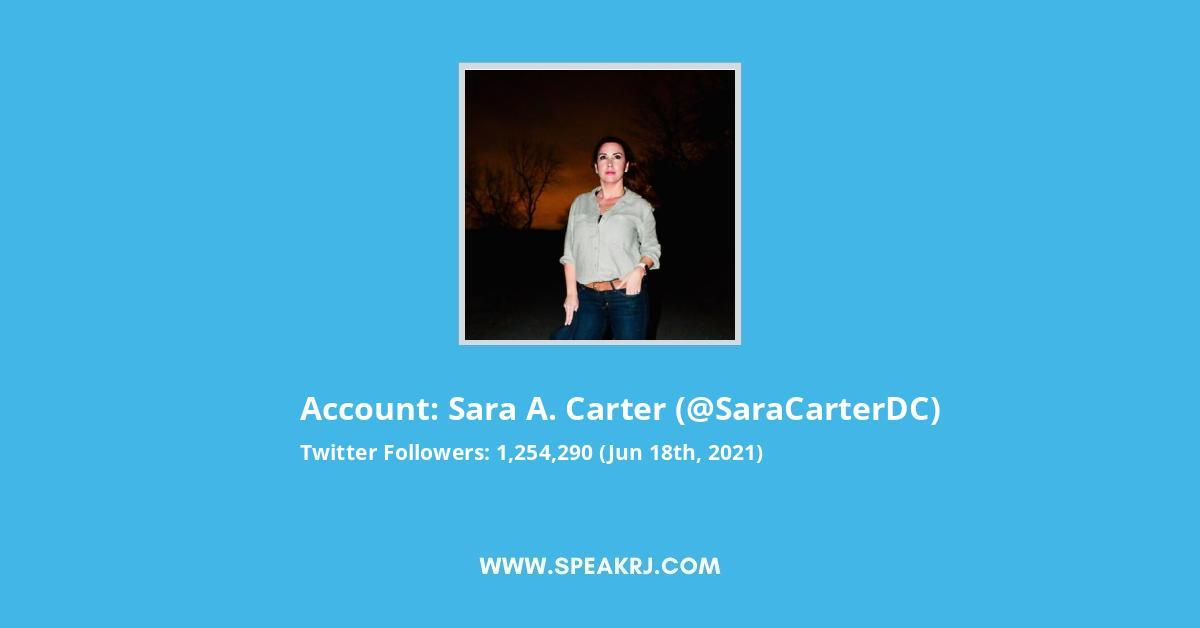 Sara A Carter Twitter Followers Statistics Analytics Spearkj Phoenix artist and sometimes writer enneagram four, always feeling she/her 💛. sara a carter twitter followers