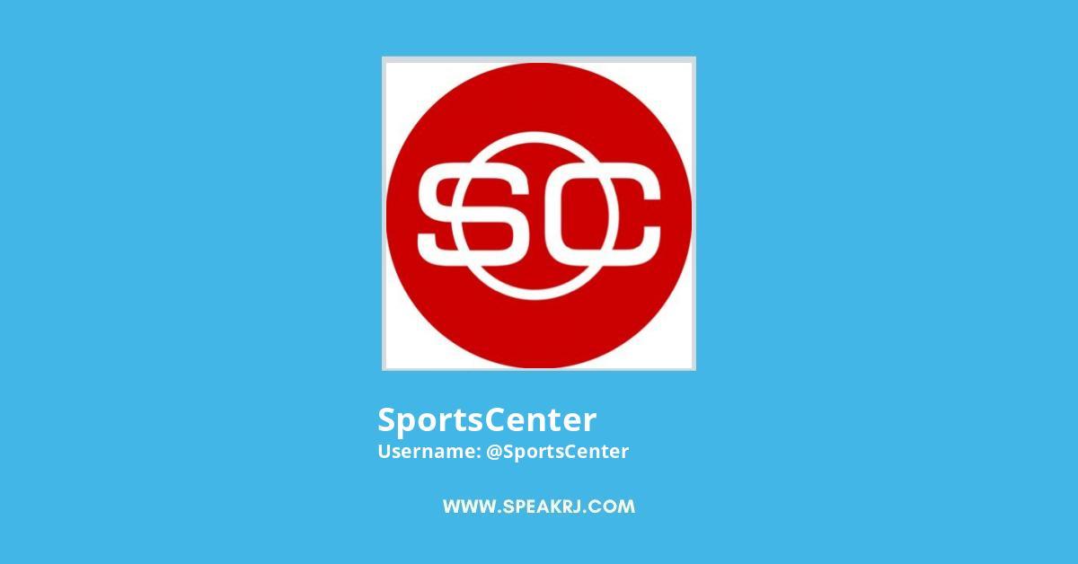 SportsCenter Twitter Followers Growth