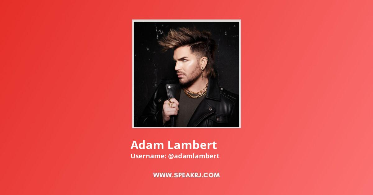 Adam Lambert YouTube Channel Stats