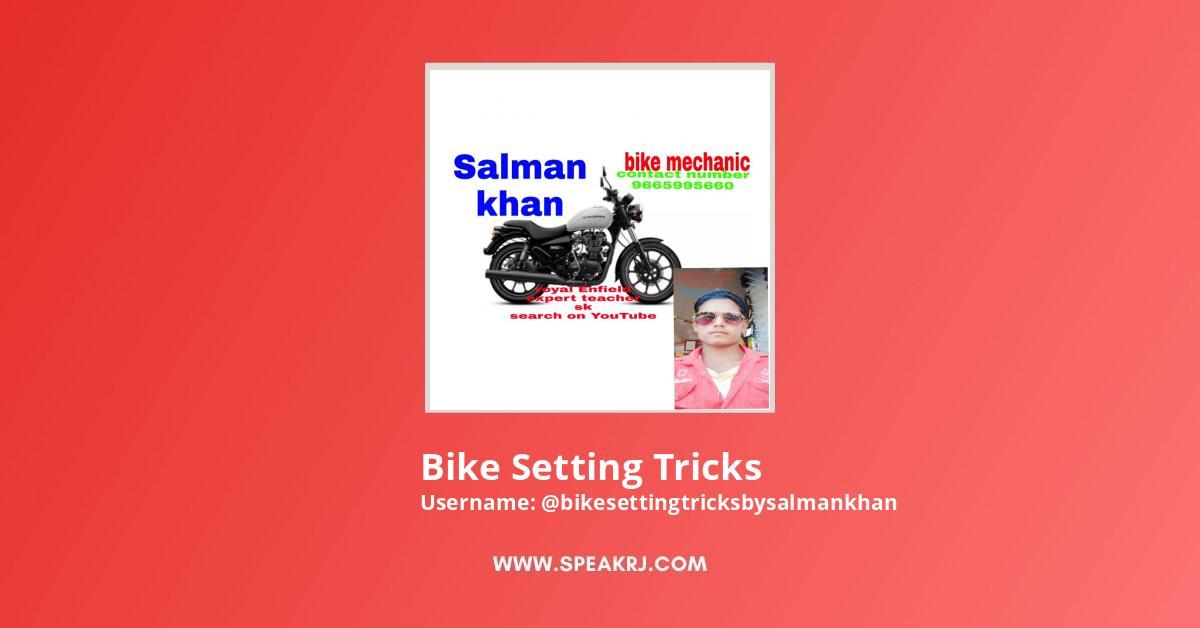Bike Setting Tricks By Salman Khan Youtube Subscribers Growth