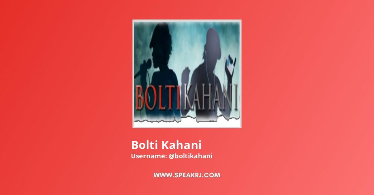Bolti Kahani YouTube Channel Stats