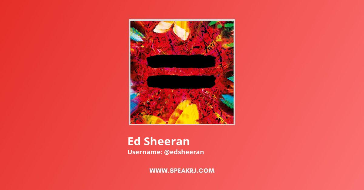 Ed Sheeran Youtube Subscribers Growth