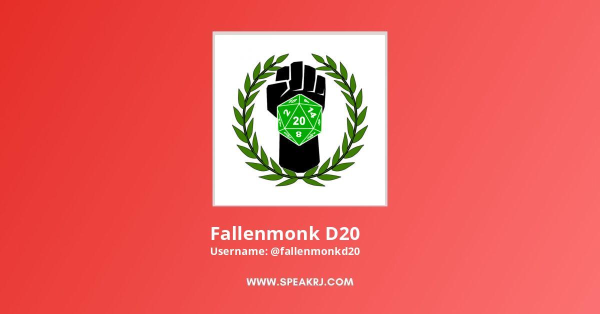 Fallenmonk D20 YouTube Channel Stats