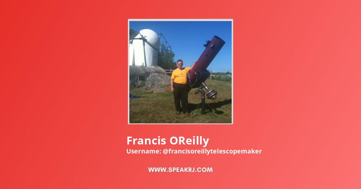 Francis OReilly Youtube Subscribers Growth
