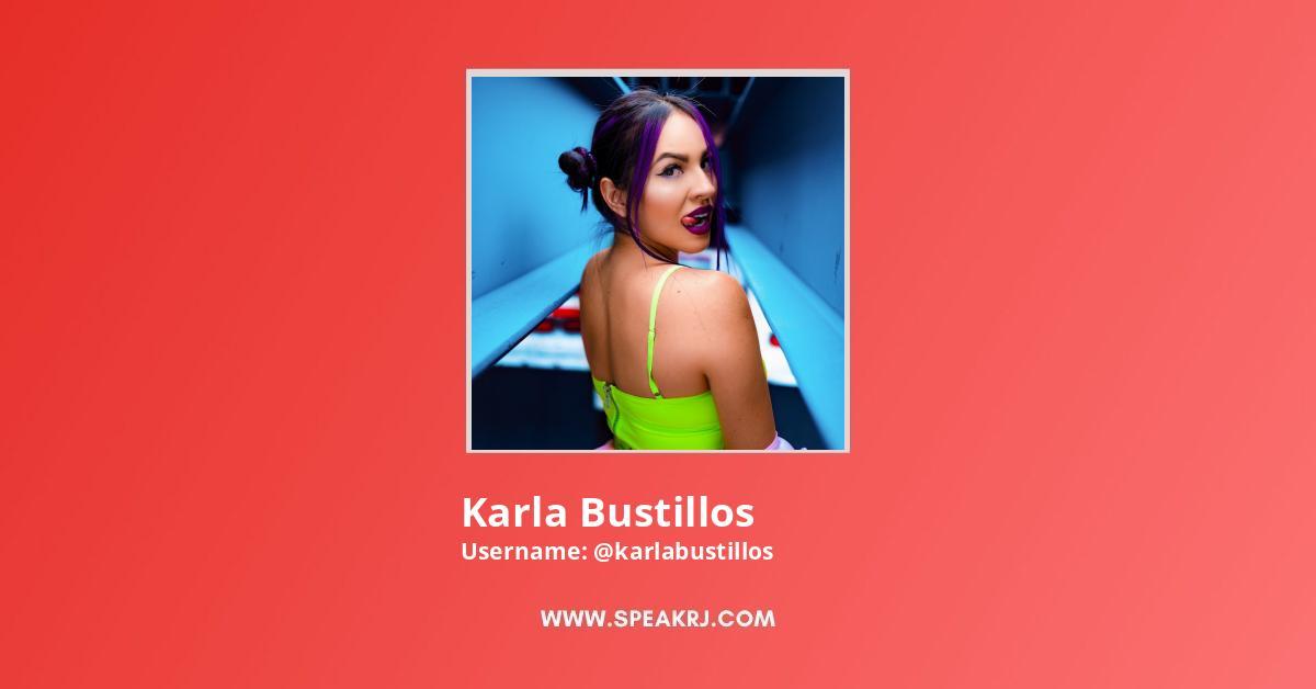 Karla Bustillos YouTube Channel Stats