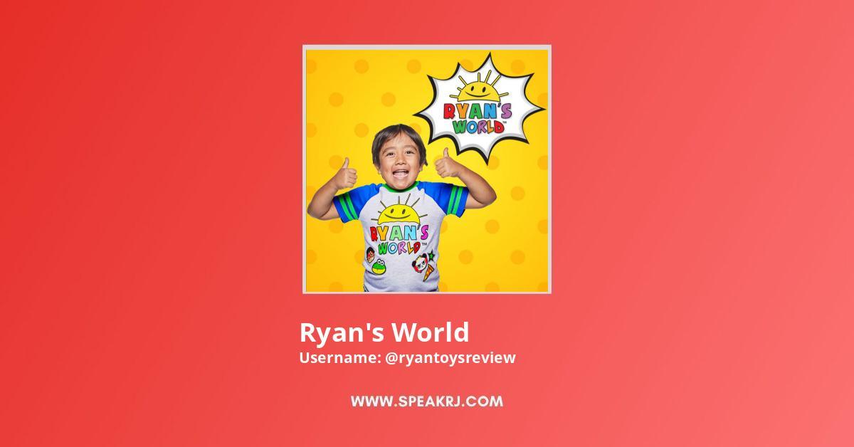 Ryan's World Youtube Subscribers Growth