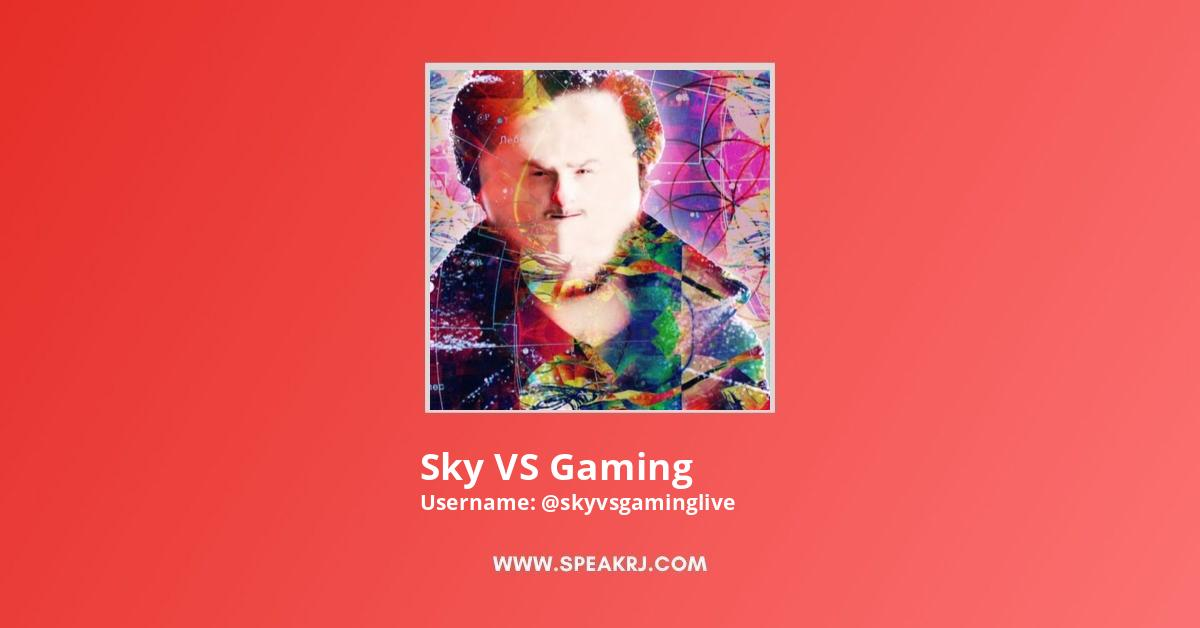 Sky VS Gaming YouTube Channel Stats