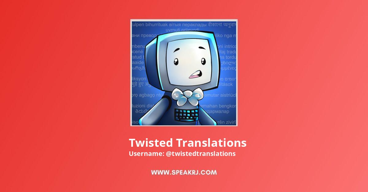 Twisted Translations YouTube Channel Stats
