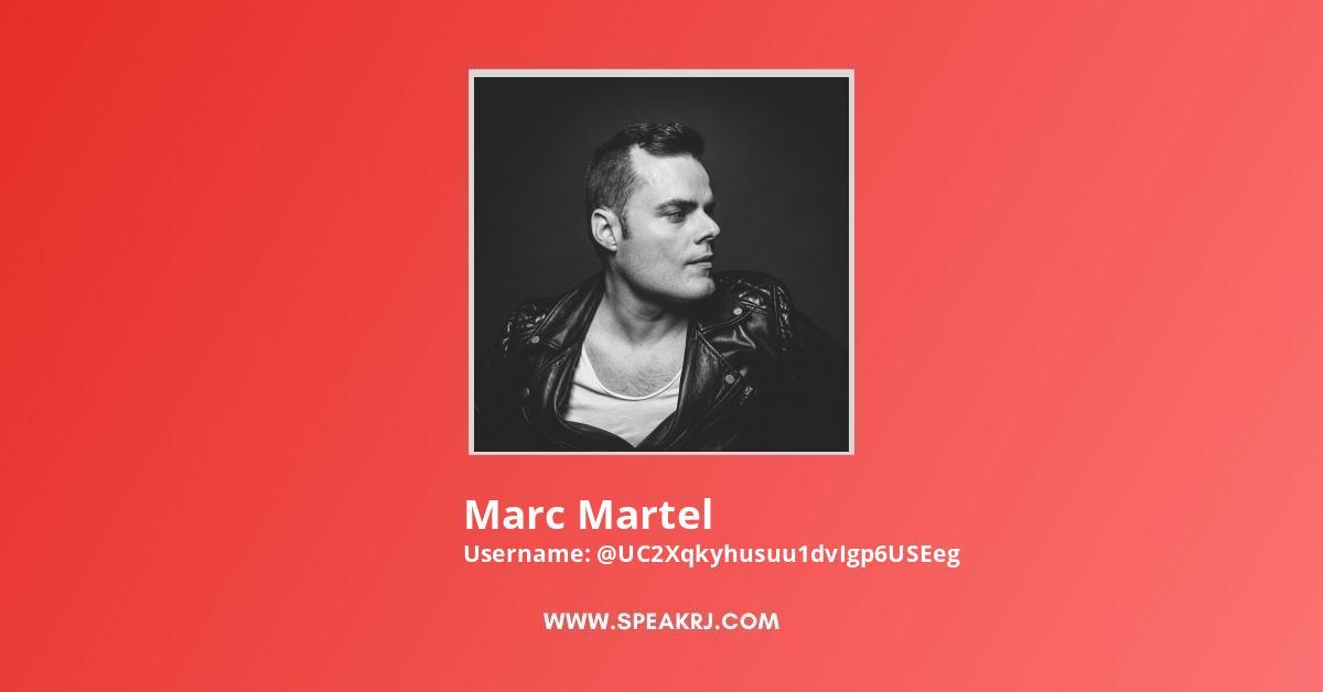 Marc Martel YouTube Channel Stats