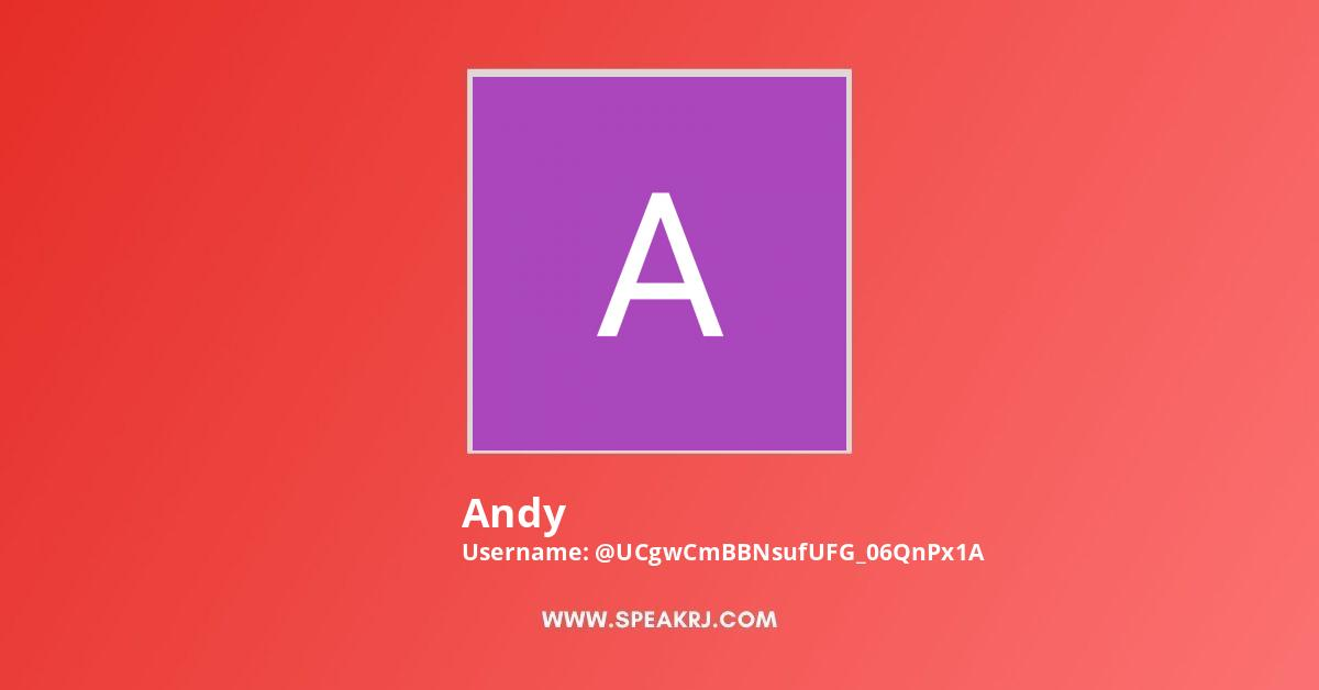 Andy YouTube Channel Stats
