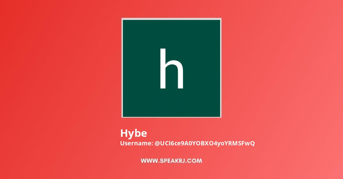 Hybe Youtube Subscribers Growth