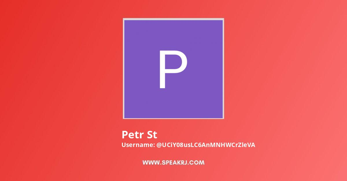 Petr St Youtube Subscribers Growth