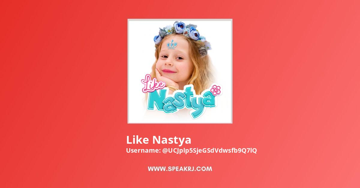 Like Nastya Youtube Subscribers Growth
