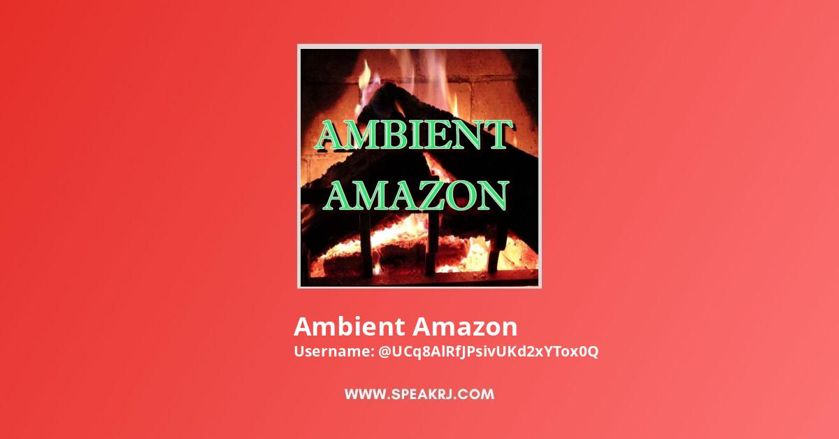 Ambient Amazon YouTube Channel Stats