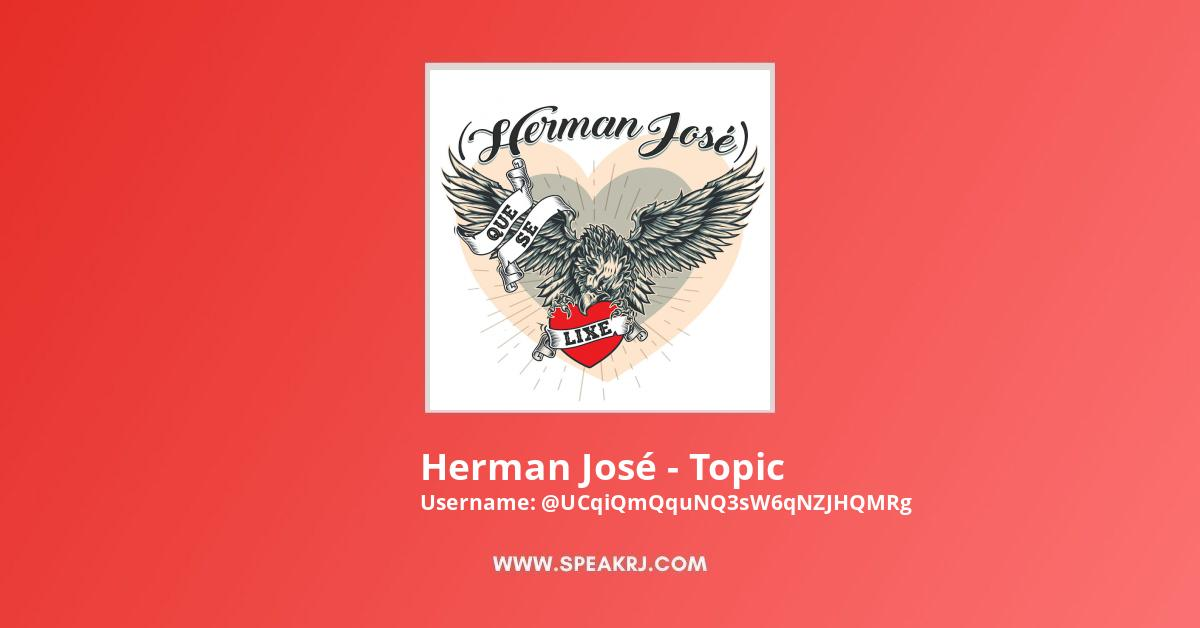 Herman José - Topic YouTube Channel Stats