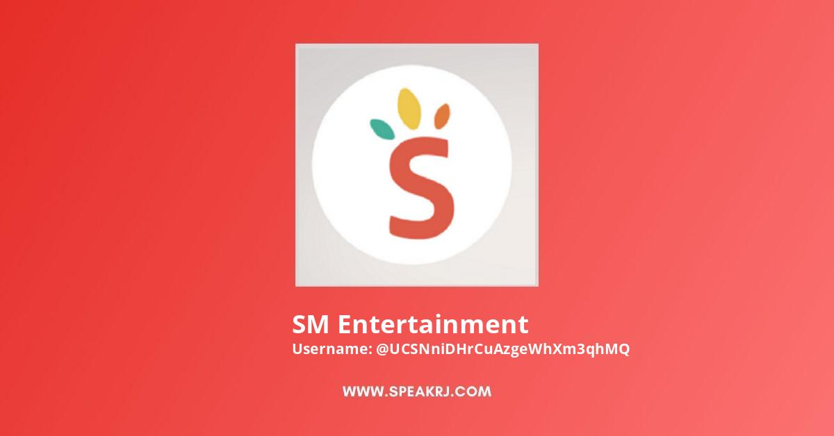 SM Entertainment YouTube Channel Stats