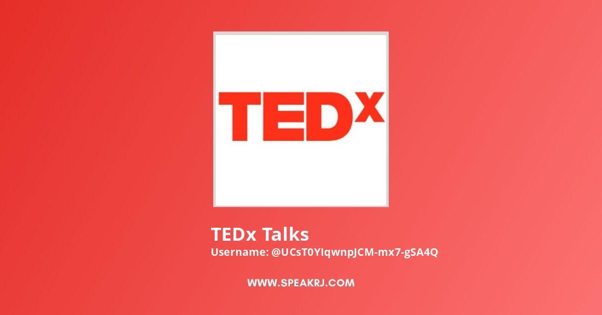TEDx Talks Youtube Subscribers Growth