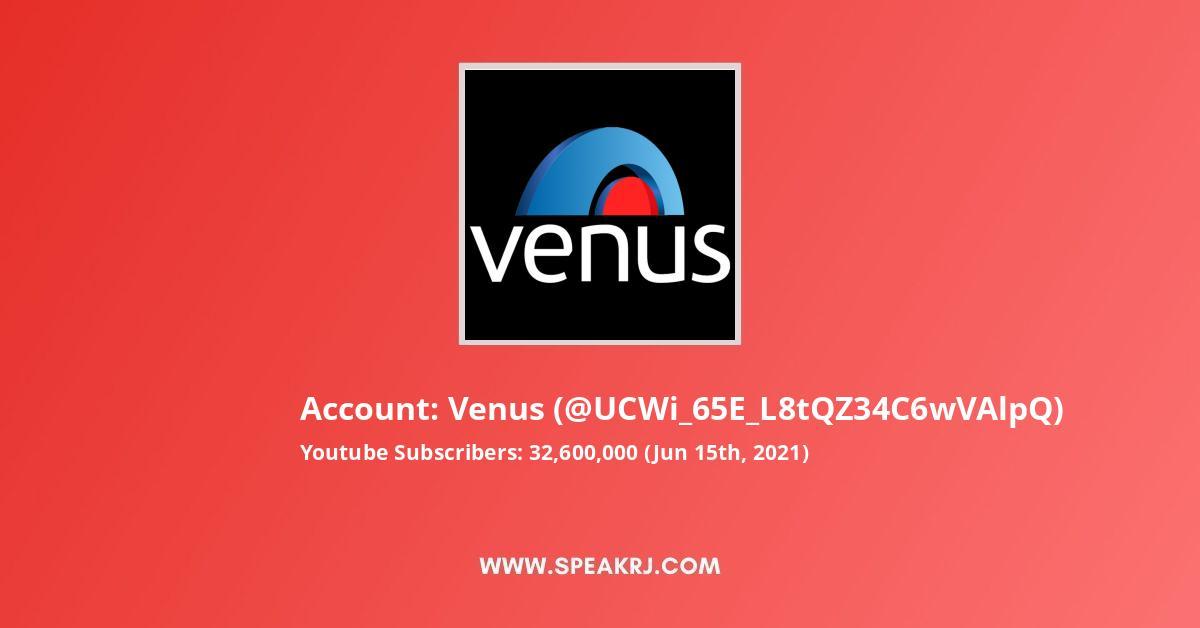 Venus Youtube Subscribers Growth